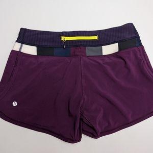 Lululemon Shorts Run Times? Purple 6